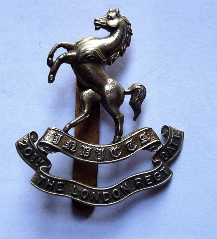 20th London Regt Batt CapBadge3